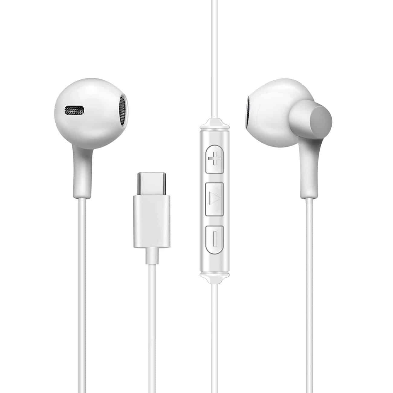 Moisture MT-H212 Earphones For Type C In White