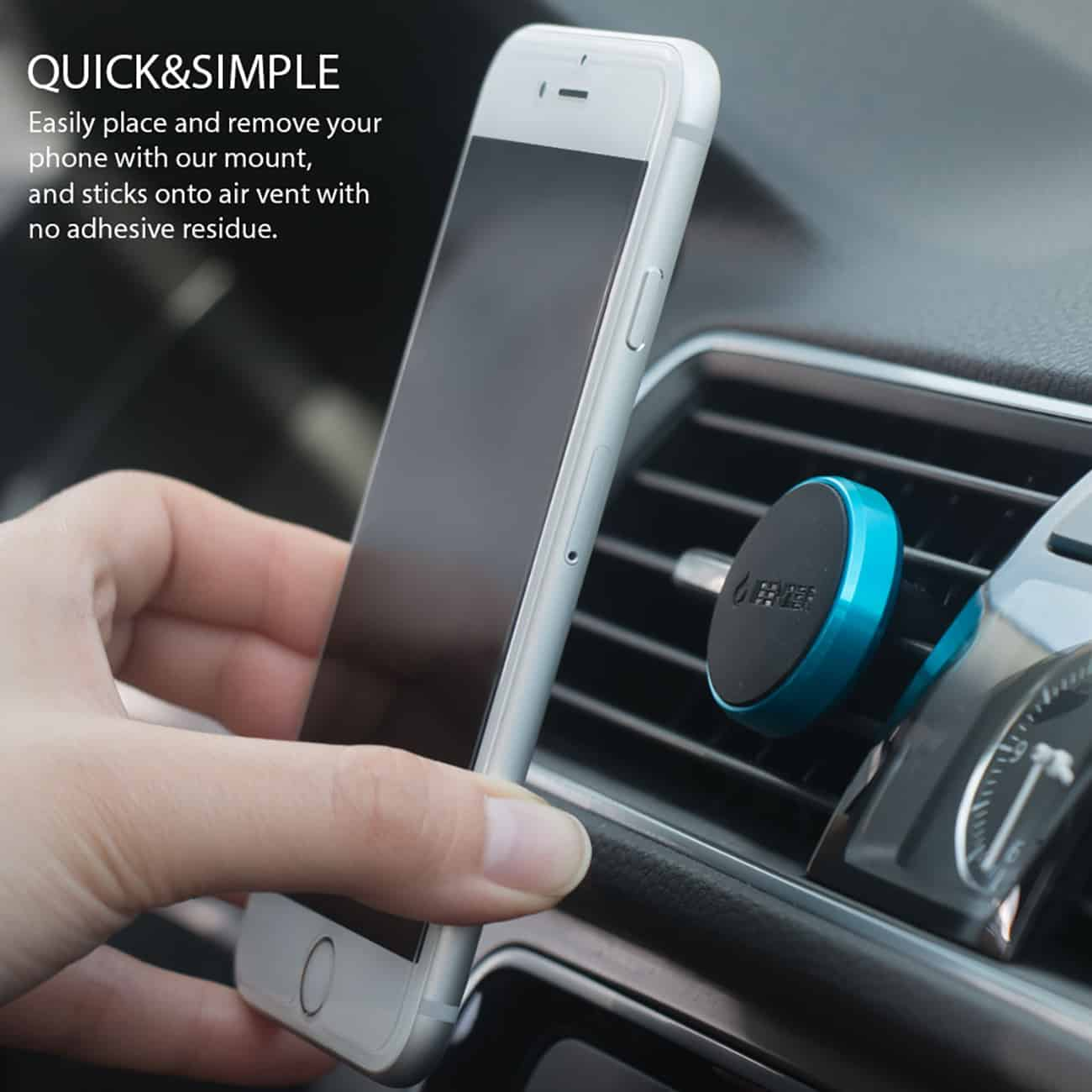 Magic Car Mount Holder (Metallic Blue)