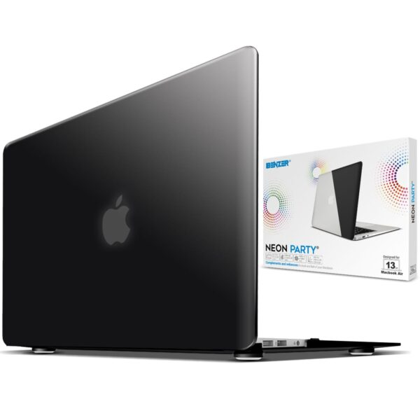 Superior iBenzer Neon Party Macbook Pro 13 A1706& A1708 Black case Newest 2016-2018 Release