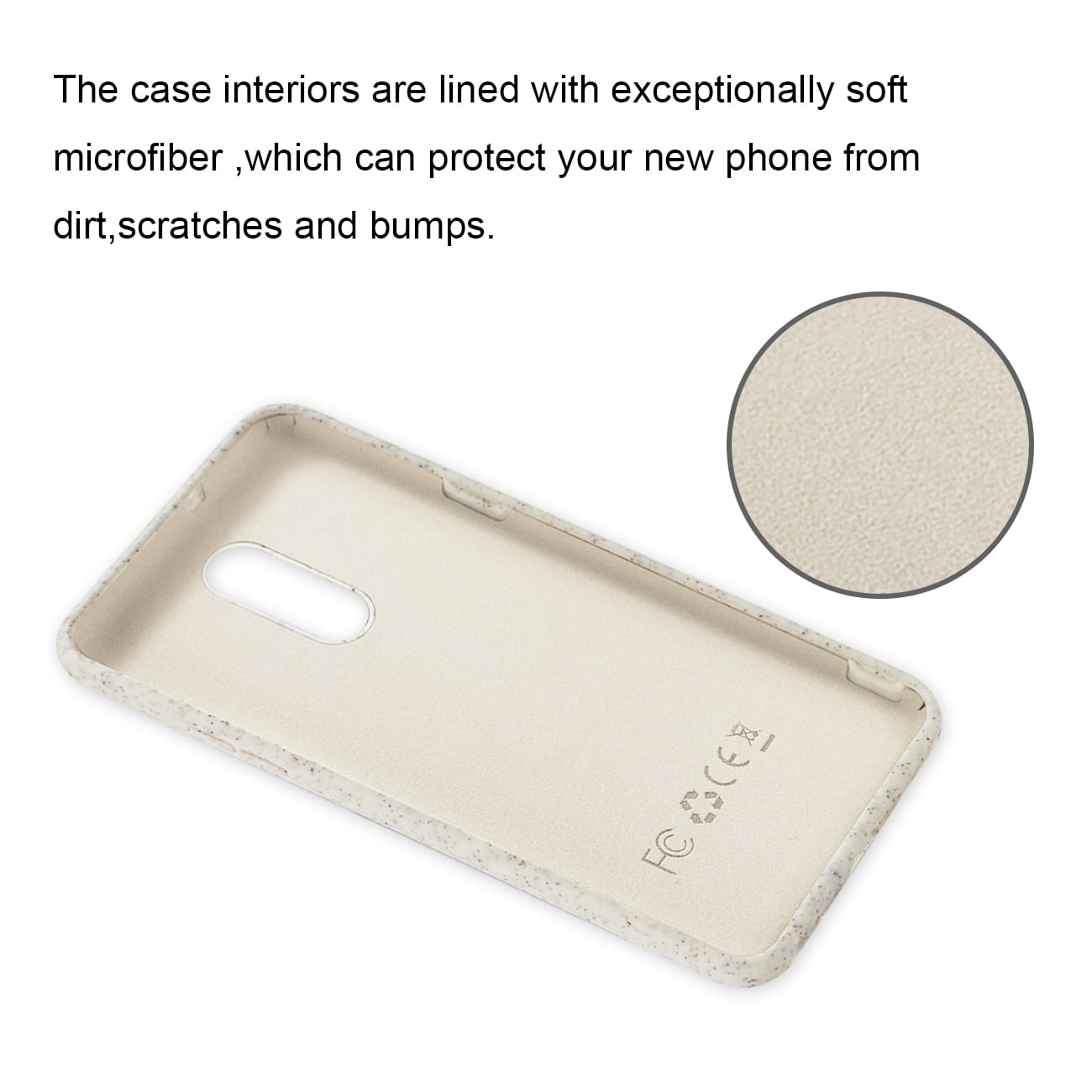 ISTIK LG STYLO 5 Wheat Bran Material Silicone Phone Case In White