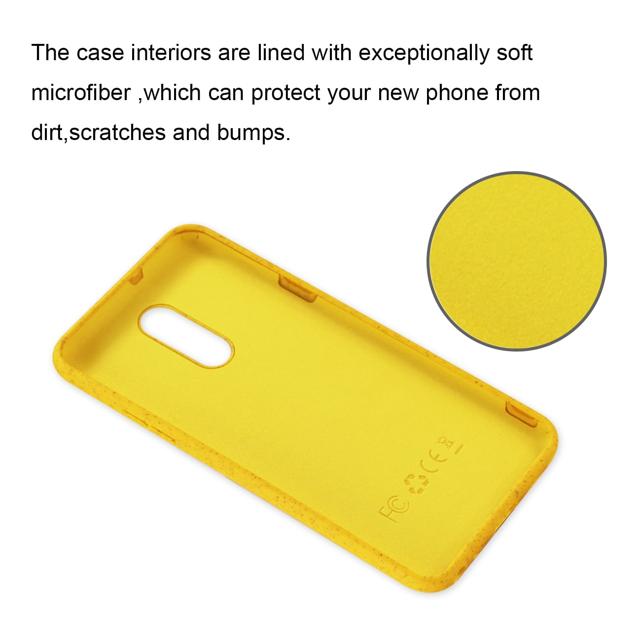 ISTIK LG STYLO 5 Wheat Bran Material Silicone Phone Case In Yellow