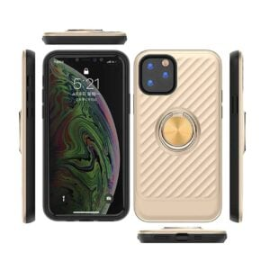 APPLE IPHONE 11 PRO MAX Case with Ring Holder InGold