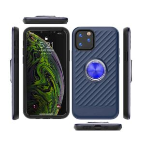 APPLE IPHONE 11 Case with Ring Holder InBlue