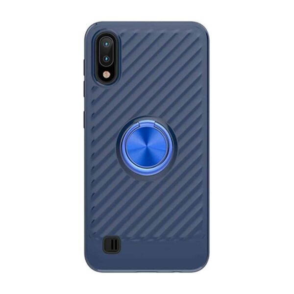 SAMSUNG GALAXY A10/M10 Case with Ring Holder In Blue
