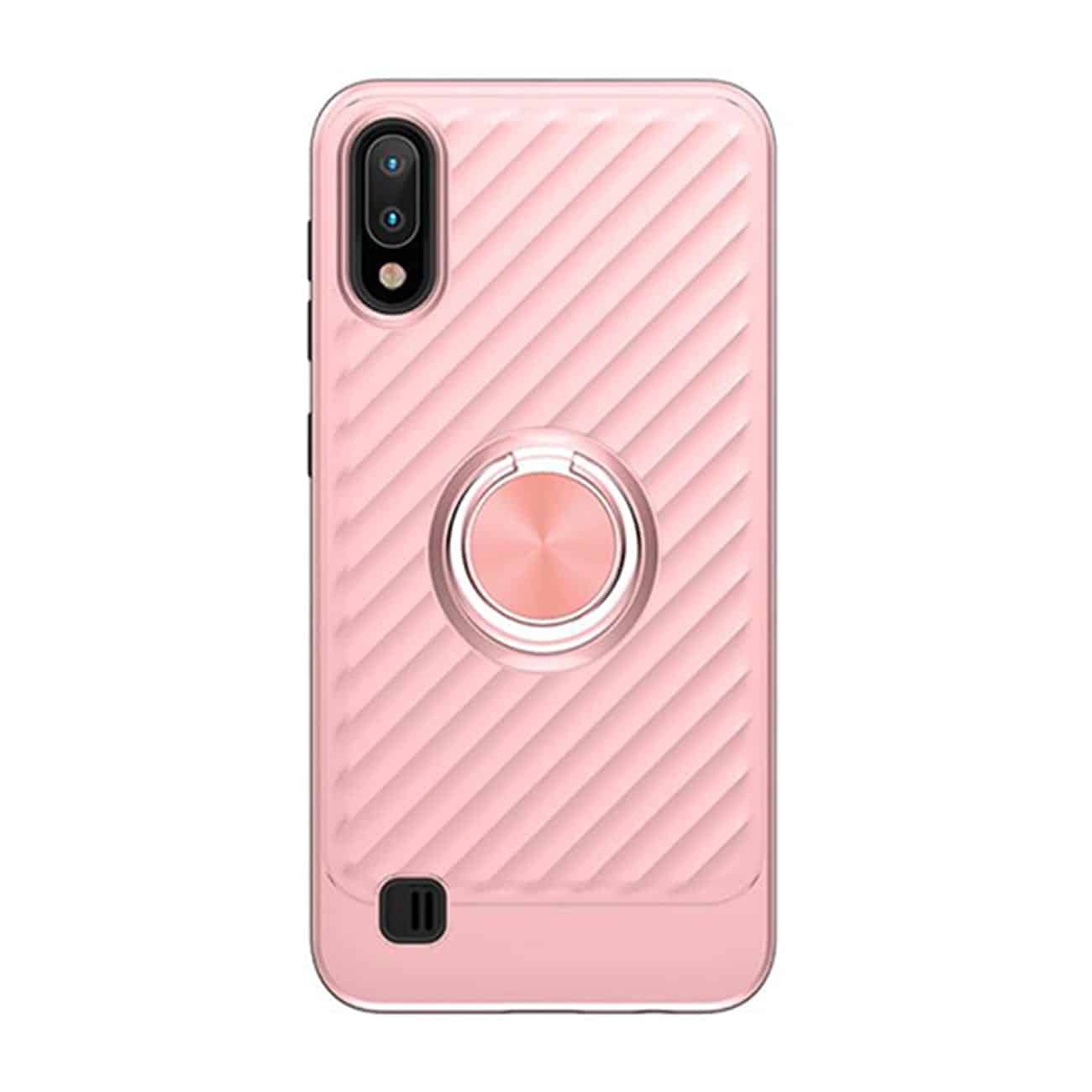 SAMSUNG GALAXY A10/M10 Case with Ring Holder In Rose Gold
