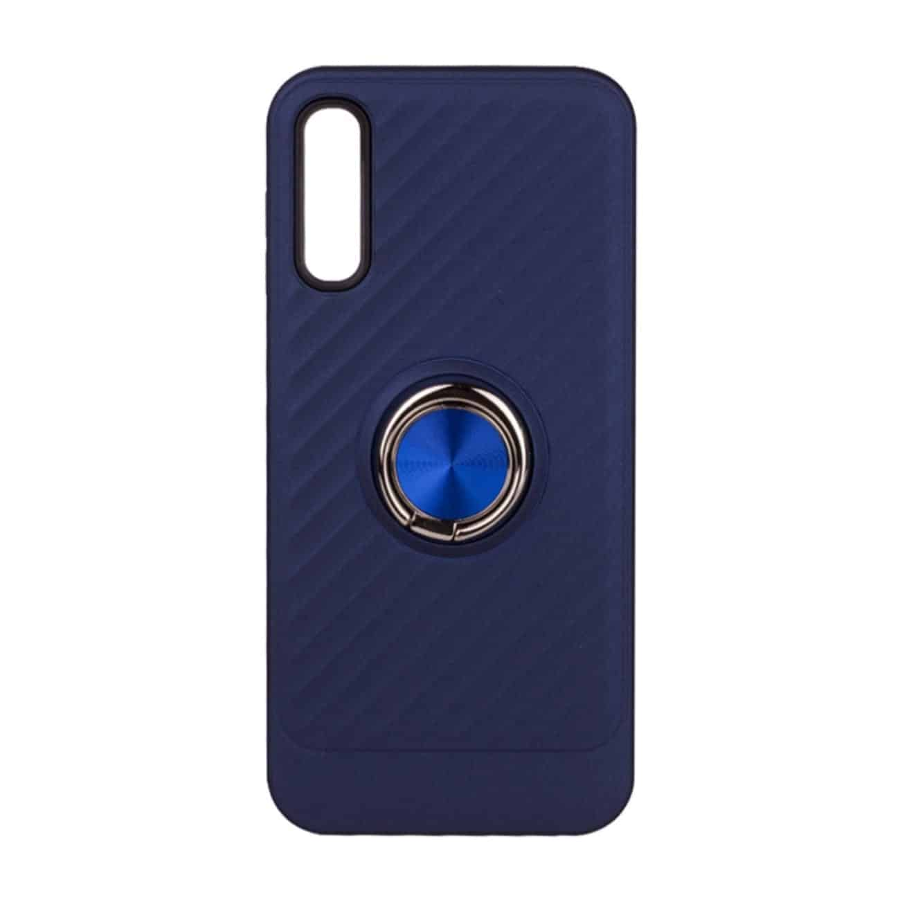 SAMSUNG GALAXY A70 Case with Ring Holder InBlue