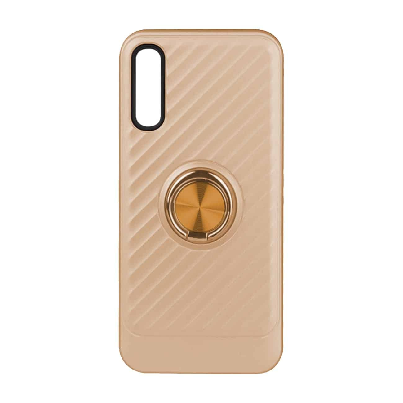 SAMSUNG GALAXY A70 Case with Ring Holder InGold