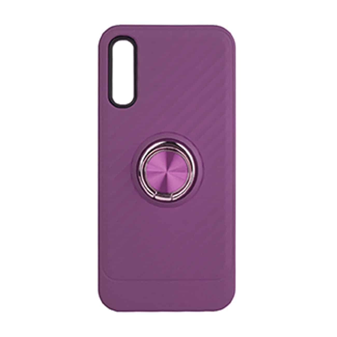 SAMSUNG GALAXY A70 Case with Ring Holder InPurple