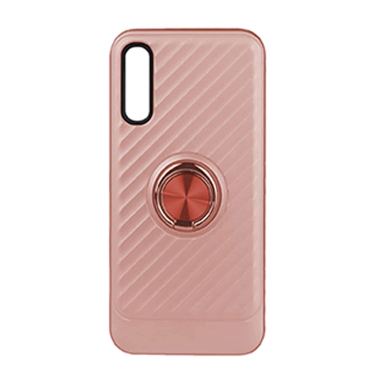 SAMSUNG GALAXY A70 Case with Ring Holder InRose Gold