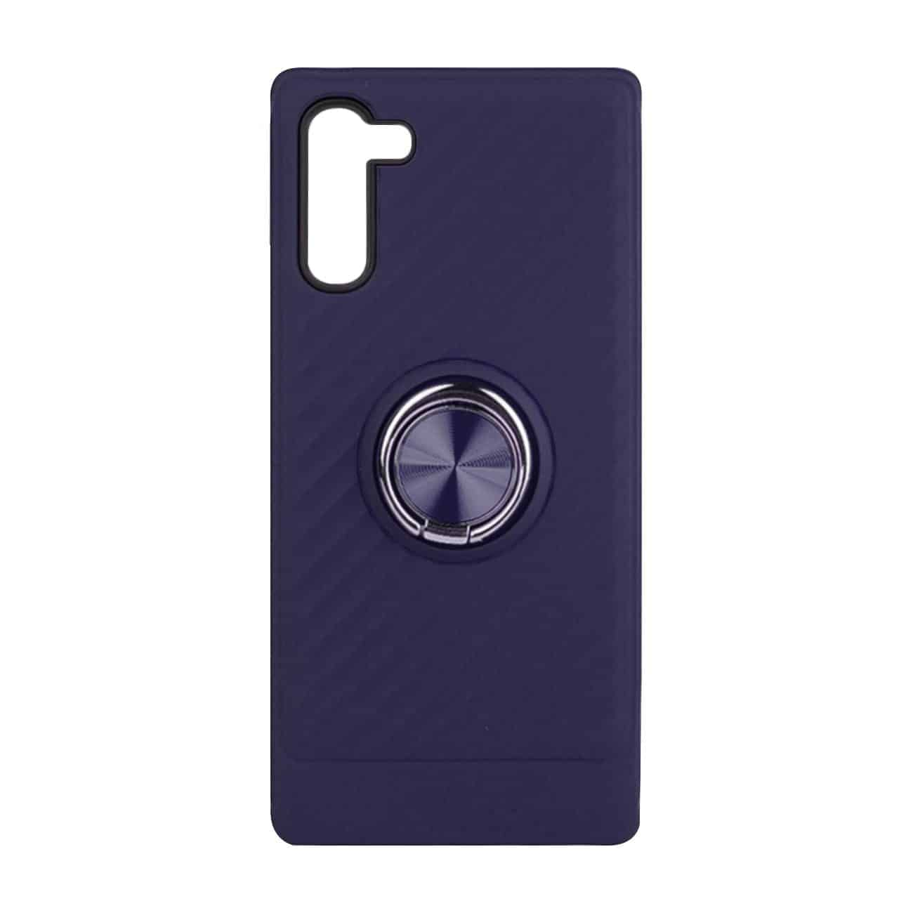 SAMSUNG GALAXY NOTE 10 Case with Ring Holder InBlue