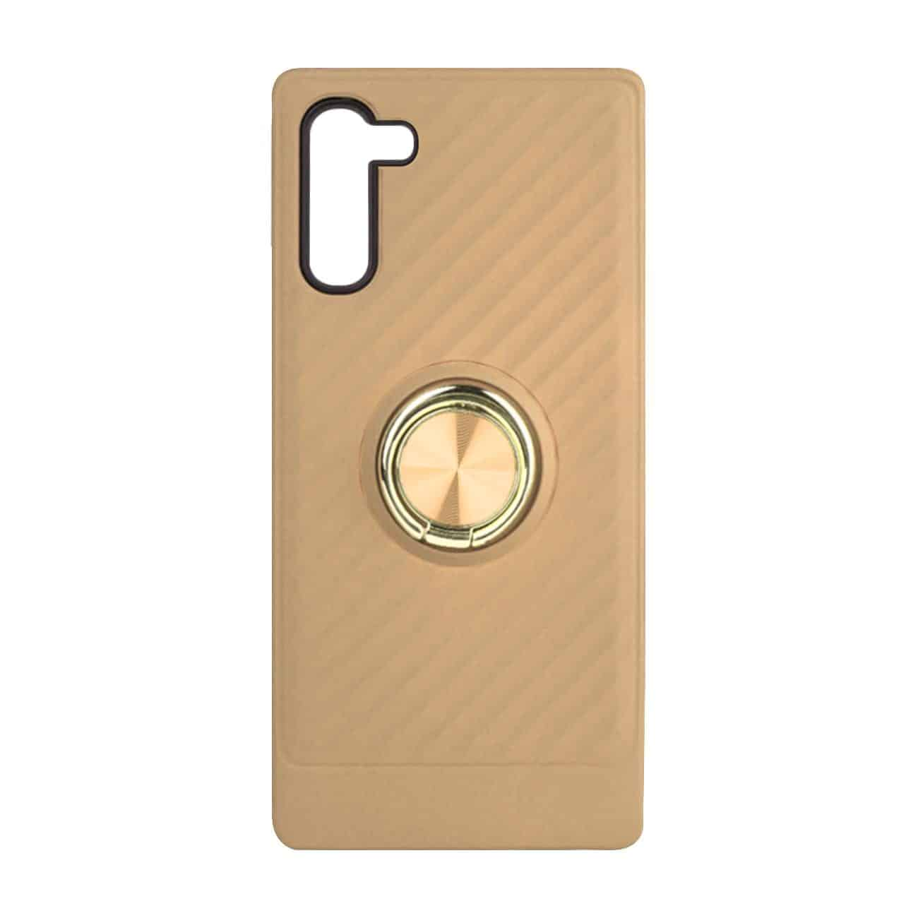 SAMSUNG GALAXY NOTE 10 Case with Ring Holder InGold