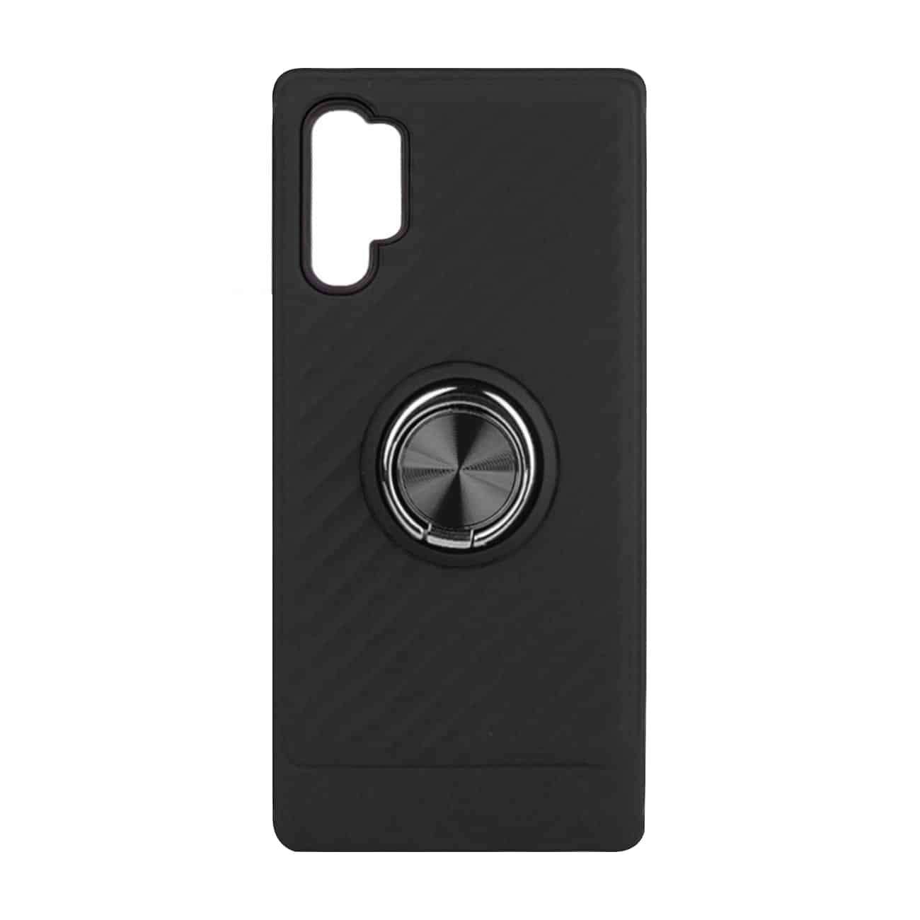 SAMSUNG GALAXY NOTE 10 PLUS Case with Ring Holder InBlack
