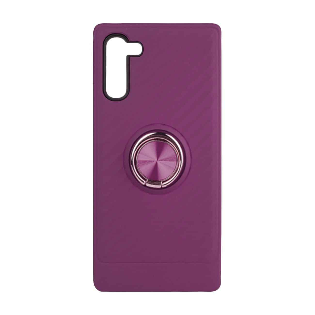 SAMSUNG GALAXY NOTE 10 Case with Ring Holder InPurple