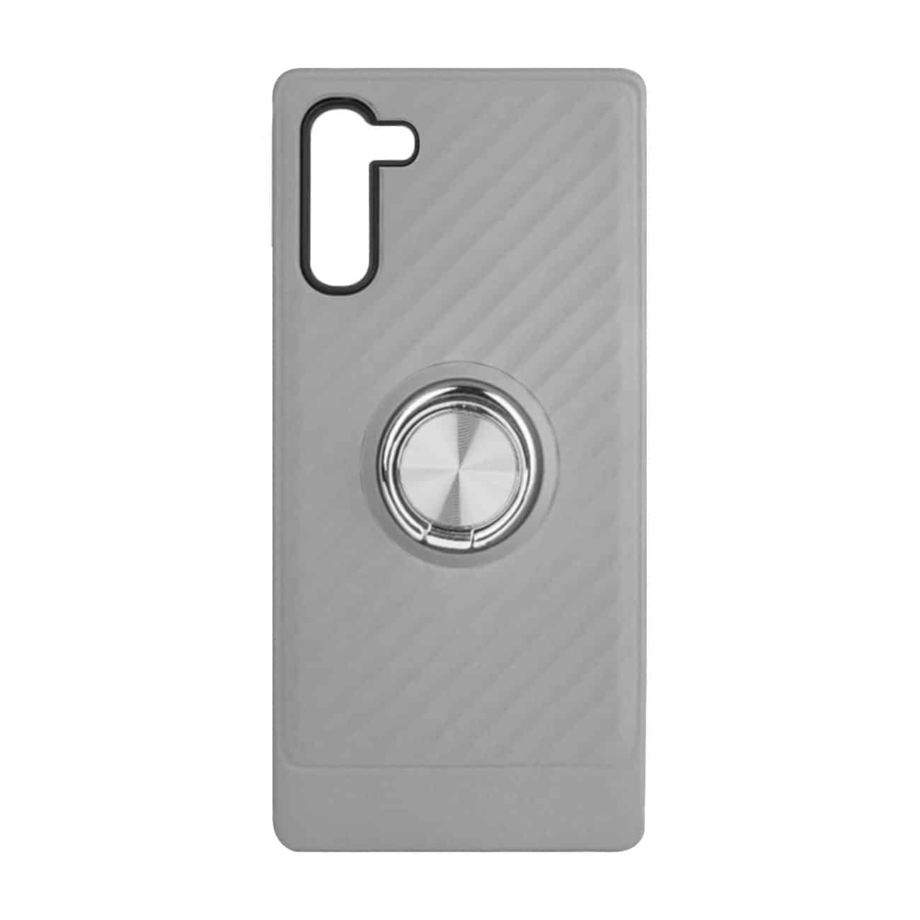 SAMSUNG GALAXY NOTE 10 Case with Ring Holder InSilver