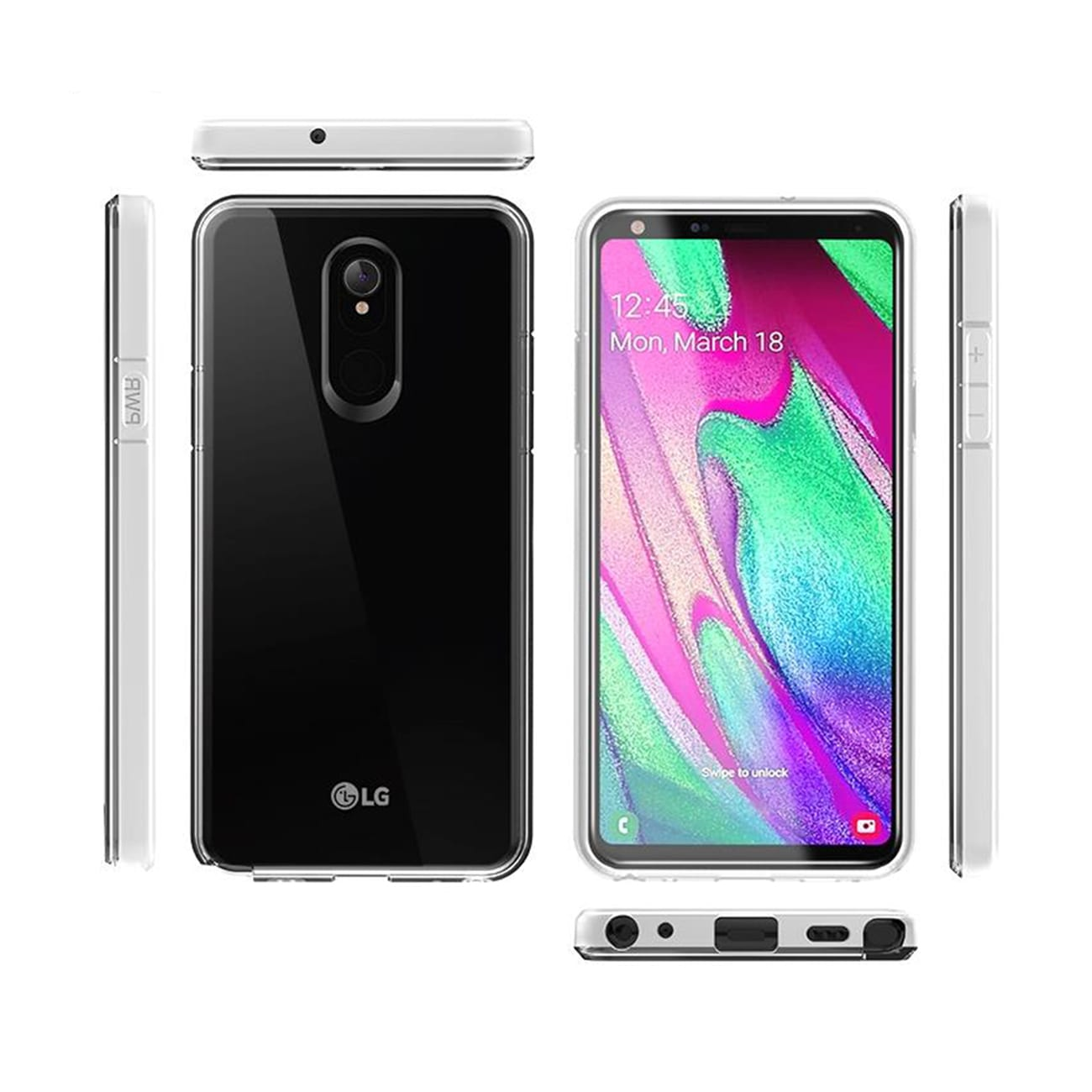 High Quality 2MM TPU Case For LG STYLO 5