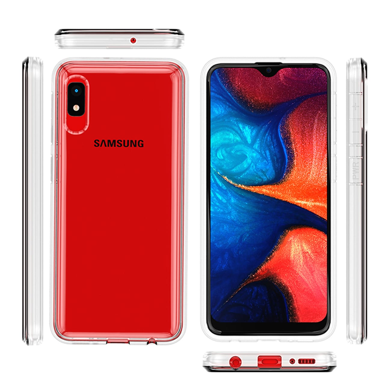 High Quality 2MM TPU Case For SAMSUNG GALAXY A10E