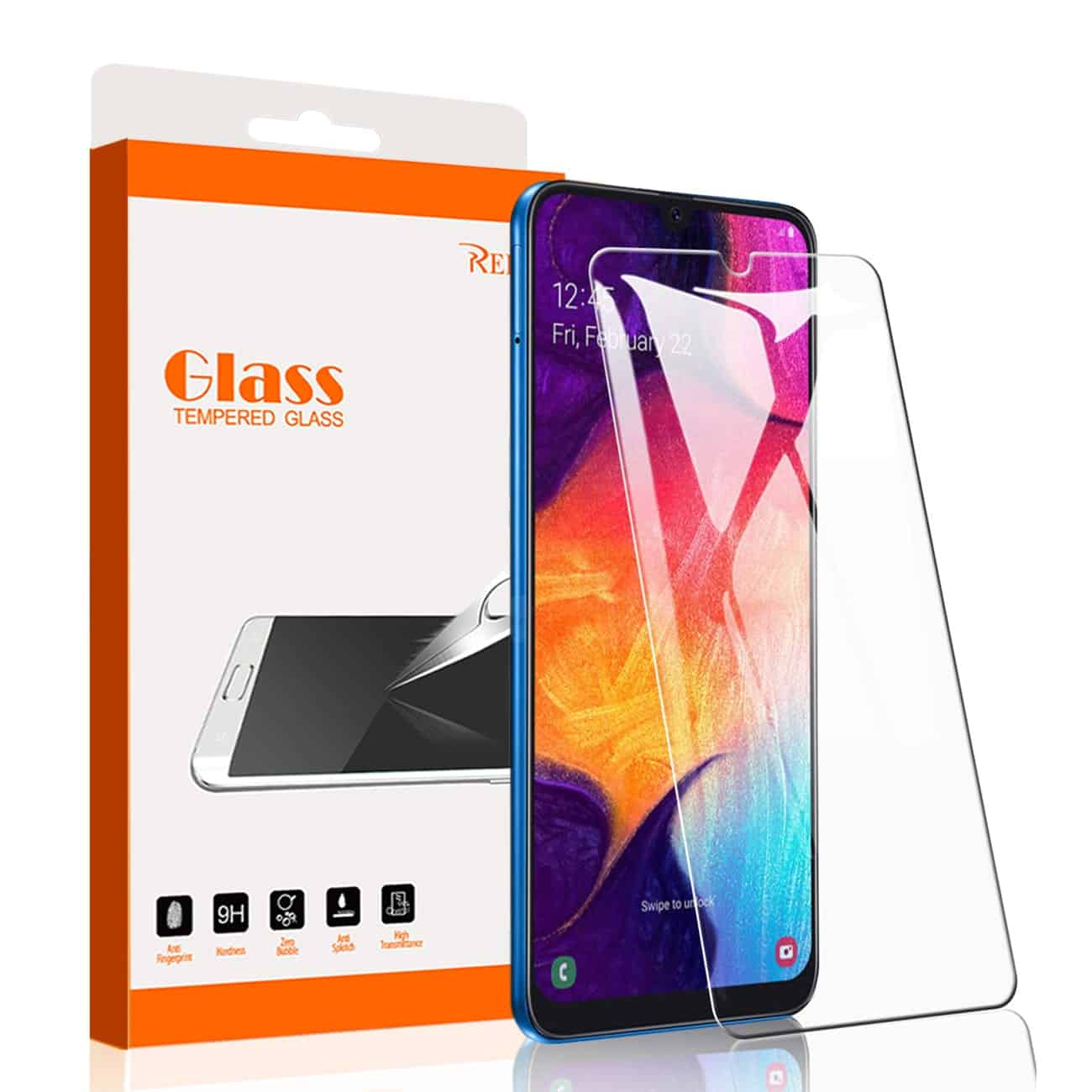 ISTIK SAMSUNG GALAXY A20 A50 Tempered Glass Screen Protector In Clear