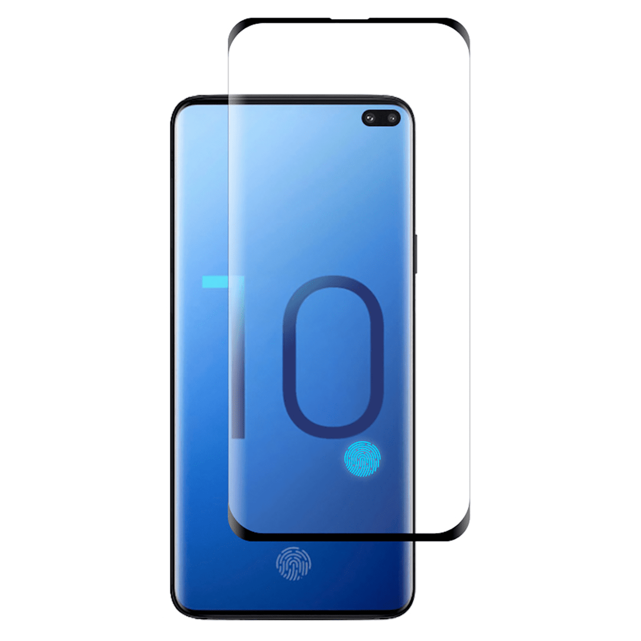 ISTIK SAMSUNG GALAXY S10 Plus 3D CURVED FULL COVERAGE TEMPERED GLASS SCREEN PROTECTOR