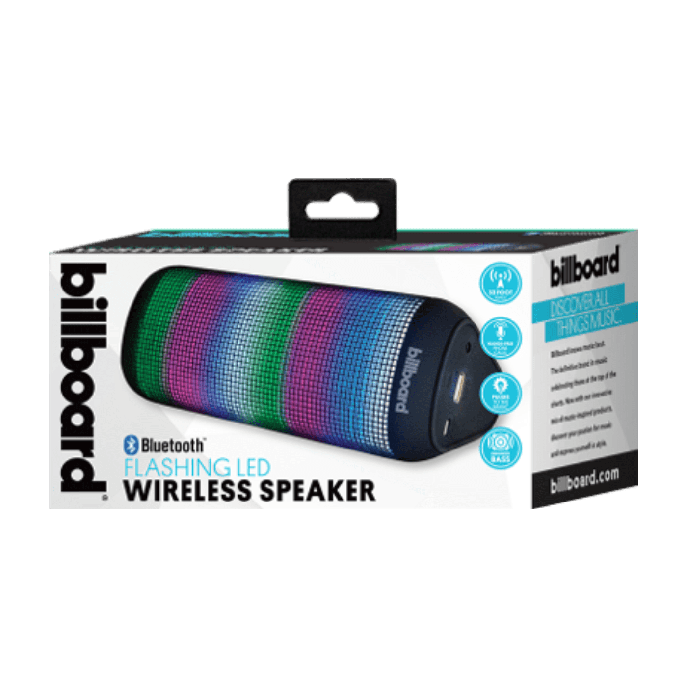 Billboard Bluetooth Flashing LED Wireless Speaker