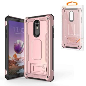 LG STYLO 4 Case With Kickstand In Rose Gold
