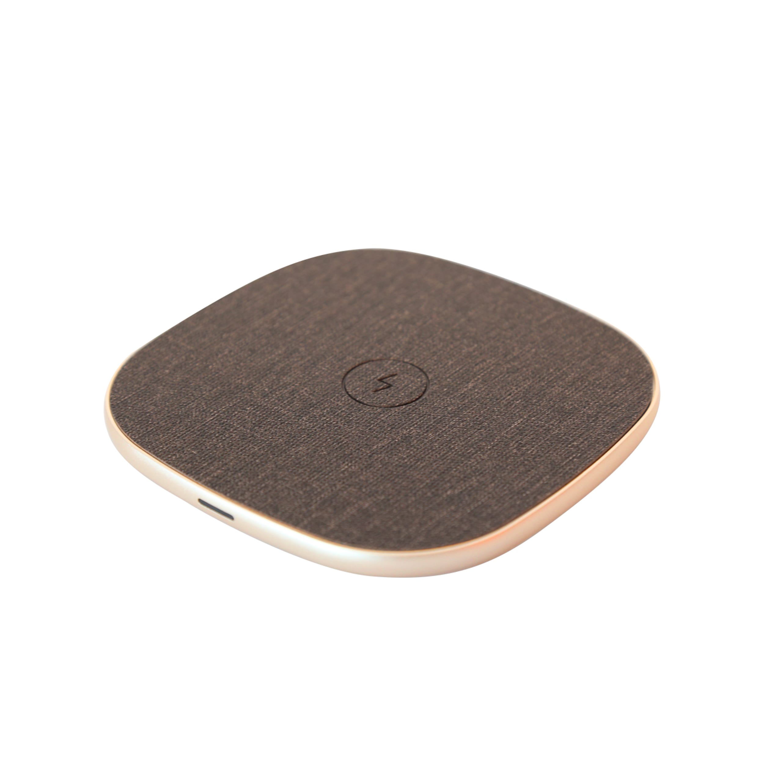Fast Charge Wireless Charging Pad In Gold