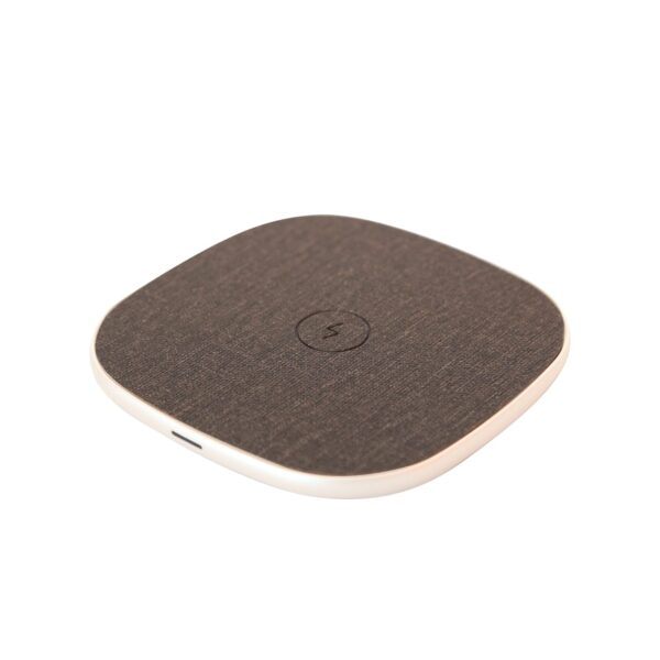 Fast Charge Wireless Charging Pad In Silver
