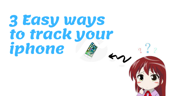 How to track your iphone