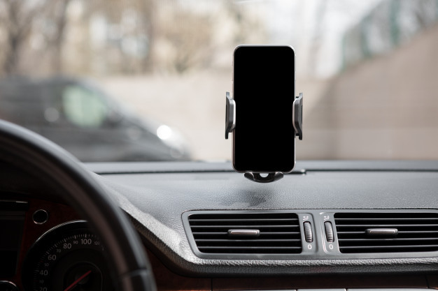 Car mount cell phone