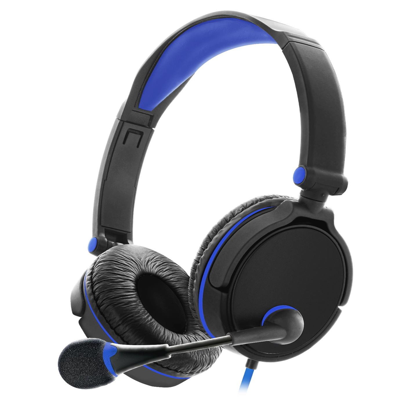 Sentry Industries GX50: Gaming Headset In Blue