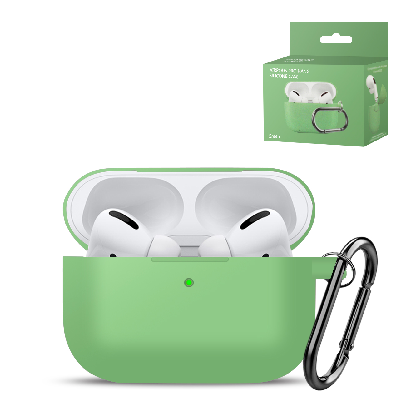 High Quality Airpods Pro Case In Green