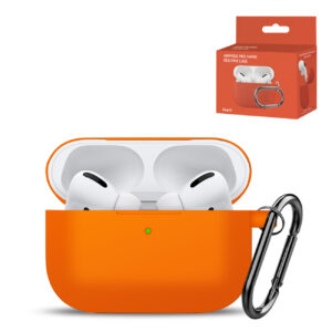 High Quality Airpods Pro Case In Orange