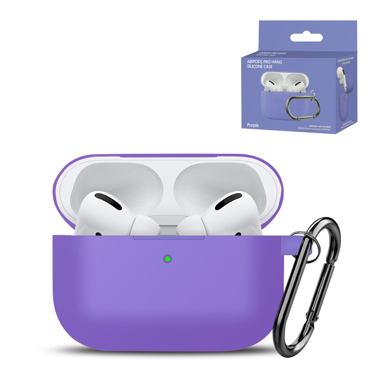 High Quality Airpods Pro Case In Purple