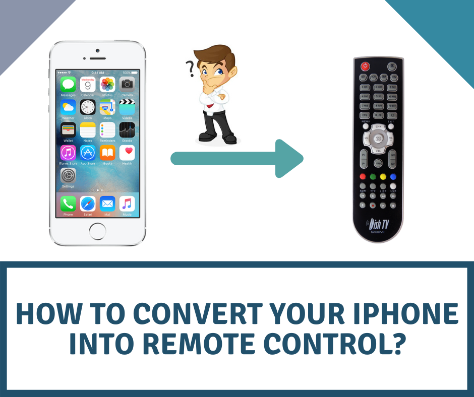 iPhone into remote control