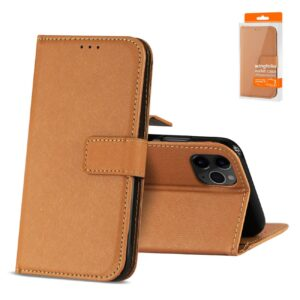 Reiko APPLE IPHONE 11 PRO MAX 3-In-1 Wallet Case In BROWN
