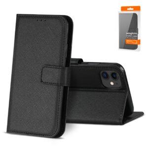 Reiko APPLE IPHONE 11 3-In-1 Wallet Case In BLACK
