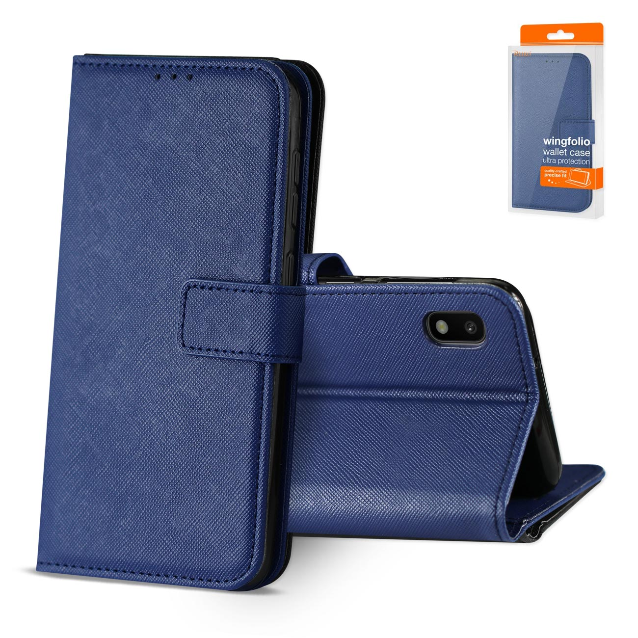 SAMSUNG GALAXY A10 3-In-1 Wallet Case In BLUE
