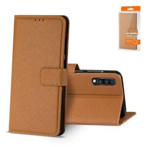 Reiko SAMSUNG GALAXY A70 3-In-1 Wallet Case In BROWN