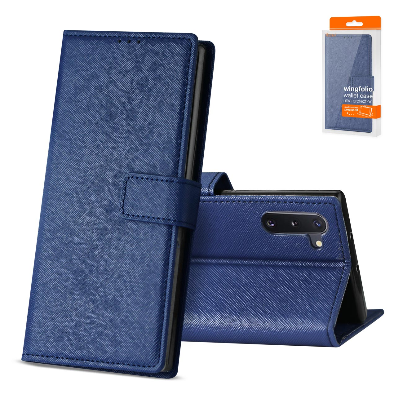 SAMSUNG GALAXY NOTE 10 3-In-1 Wallet Case In BLUE