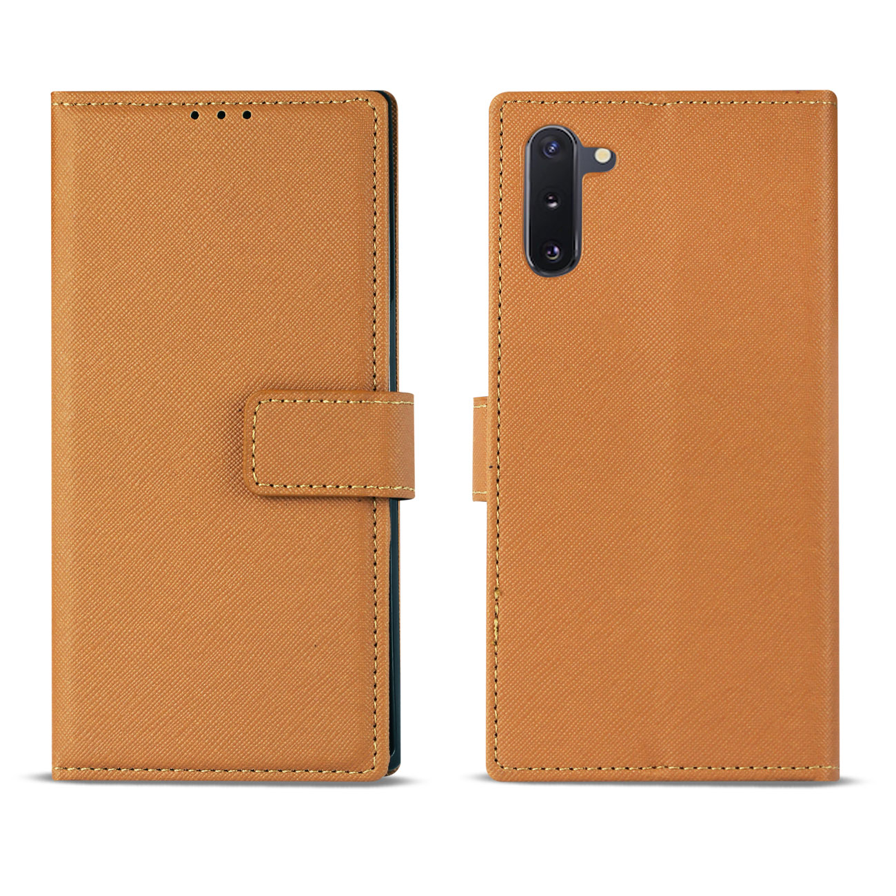 SAMSUNG GALAXY NOTE 10 3-In-1 Wallet Case In BROWN