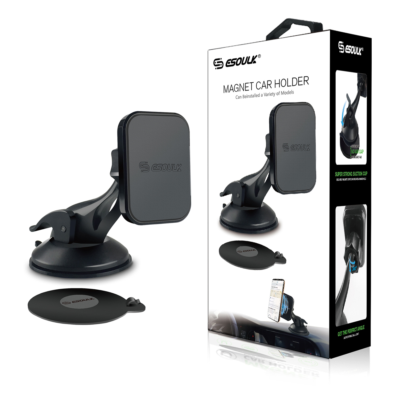 Esoulk Magnetic Car Mount