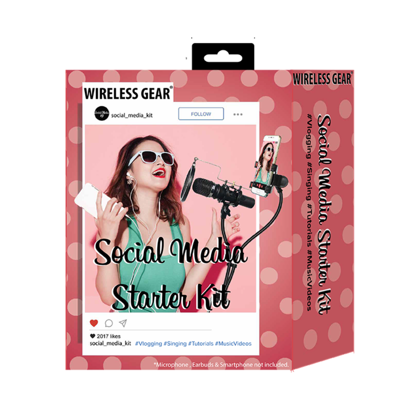 BLOGGERS Kit - With microphone holder
