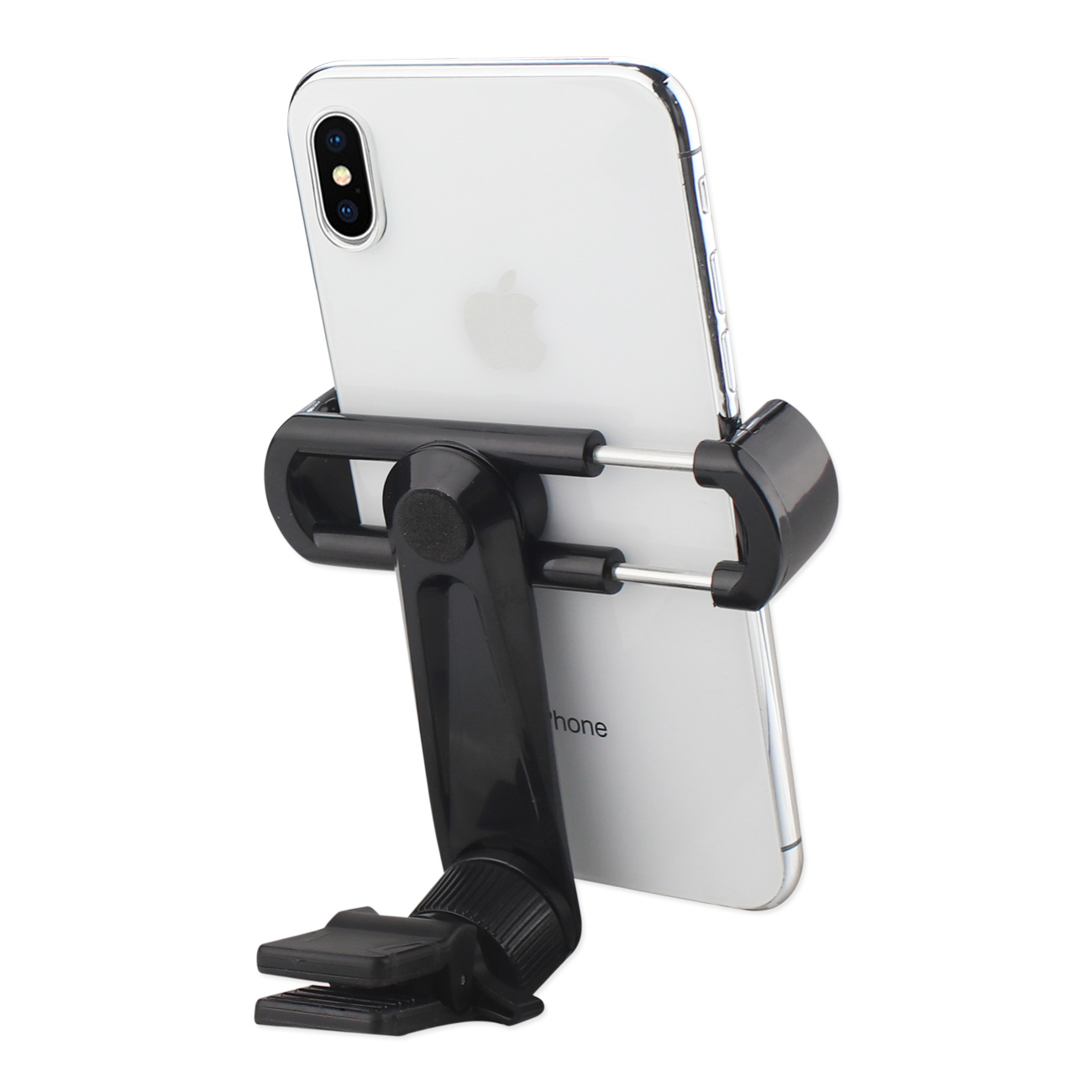 UNIVERSAL CELL PHONE AIR VENT CAR MOUNT HOLDER CRADLE IN BLACK