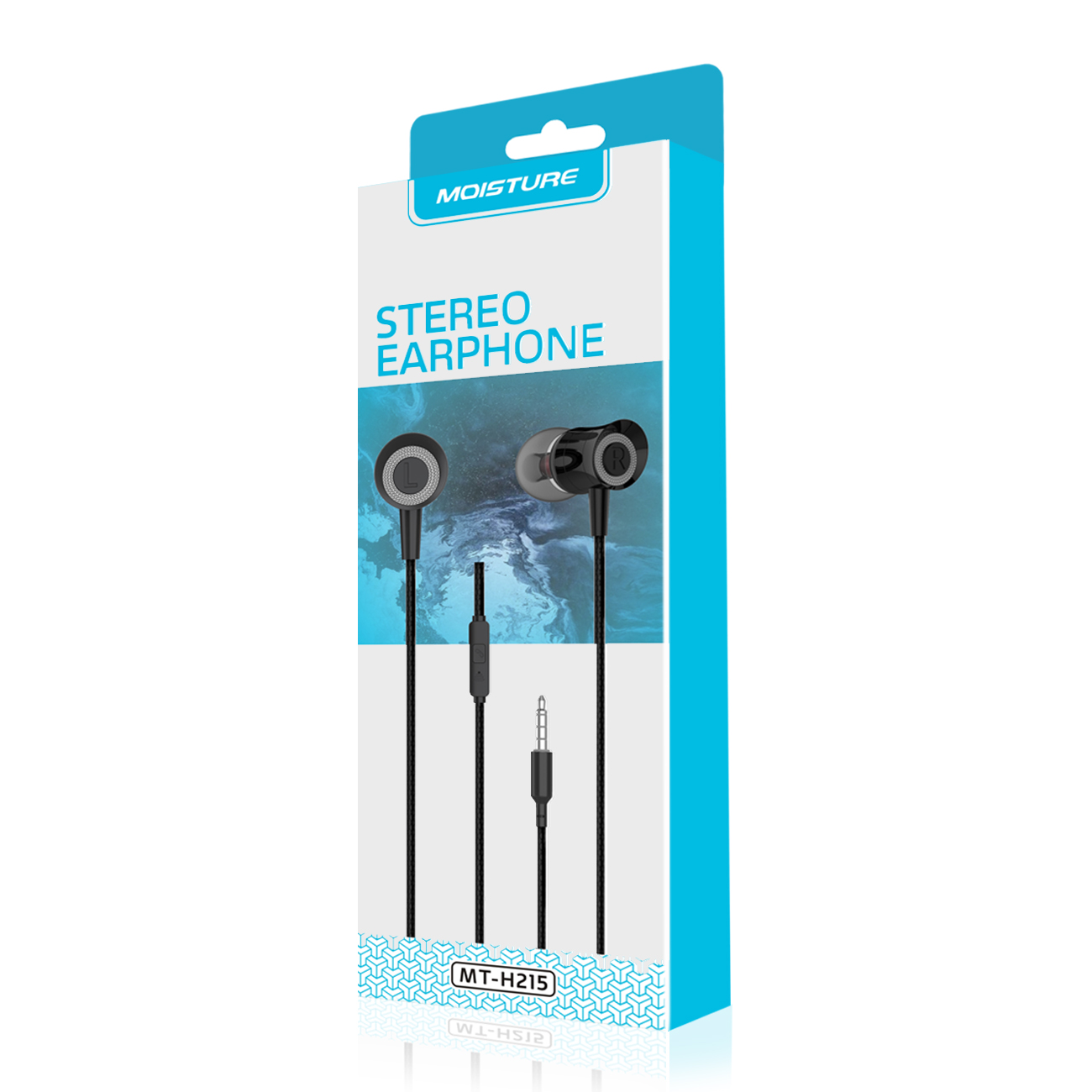 Moisture MT-H215 Earphones In Black