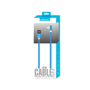 Moisture 2.6A Premium Full Steel  Data Cable In Blue