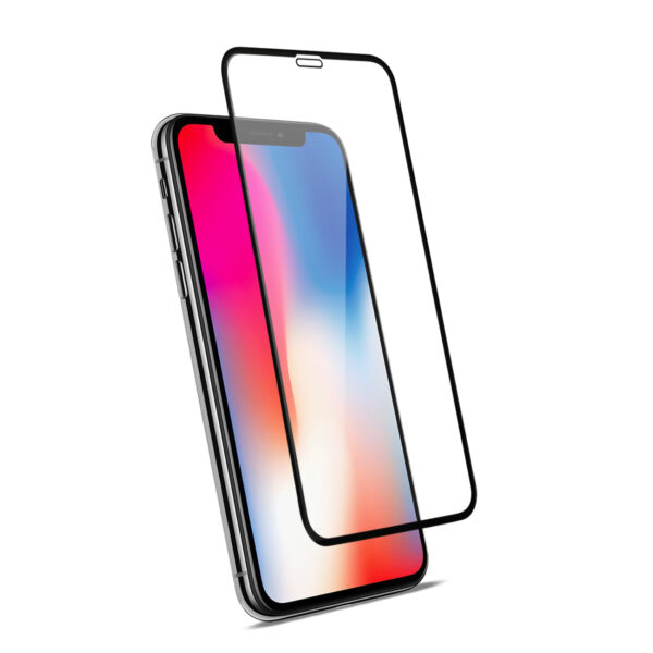APPLE IPHONE X/XS_3D Curved Tempered Glass Screen Protector In Black