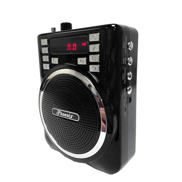 Portable PA System Speaker In Black