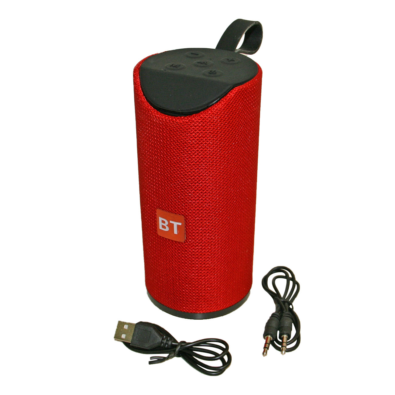 Portable Wireless Speaker In Red