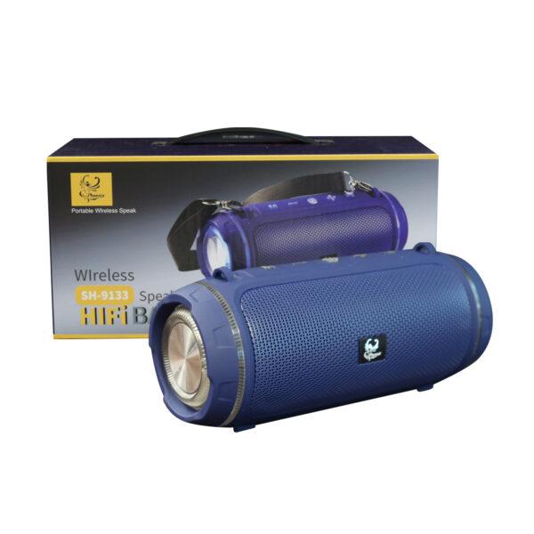 Wireless SH-9133 Speaker In Blue