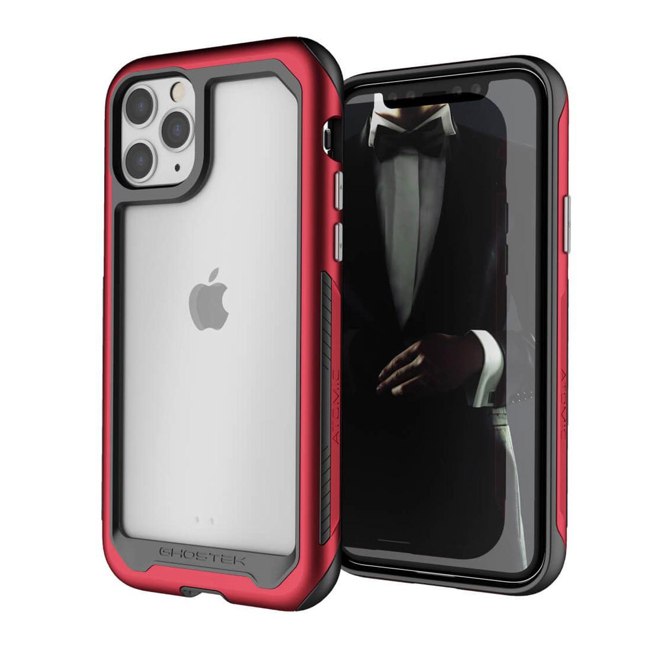 Atomic Slim Red Aluminum Case for Apple iPhone 11 Pro
