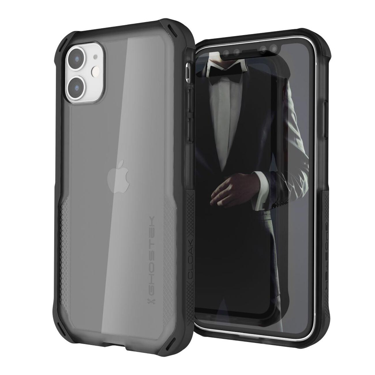 Cloak4 Black Shockproof Hybrid Case for Apple iPhone 11
